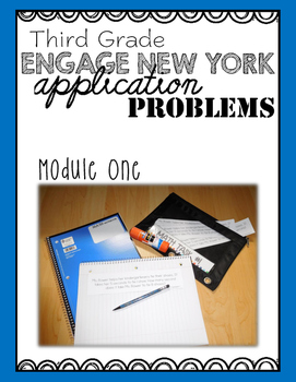 Third Grade Engage NY Eureka Application Problem Strips Mo