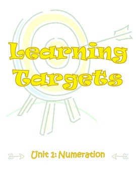 Third Grade Envisions Learning Targets/I Can Statements (U