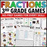 3rd Grade Fraction Activities: 16 3rd Grade Fraction Games