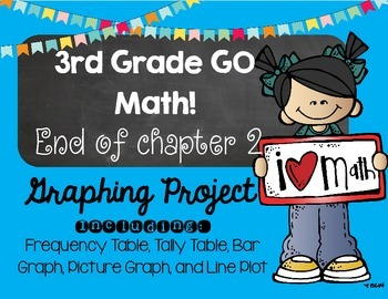 Third Grade GO Math! Chapter 2 Graphing Project!