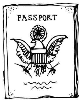 Third Grade Geography Passport