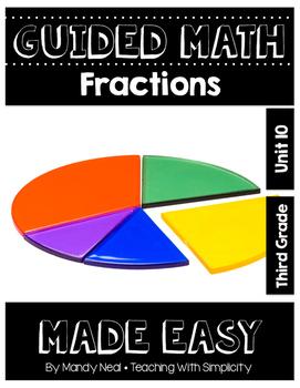 Third Grade Guided Math ~ Fractions
