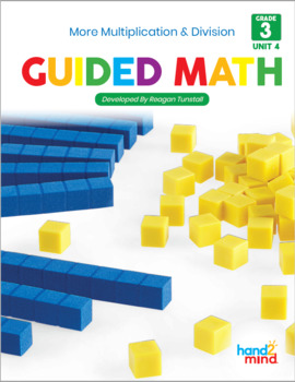 Third Grade Guided Math Multiplication and Division Proble
