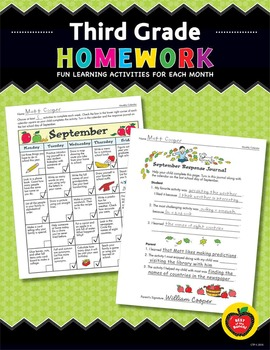 Third Grade Homework: Fun Learning Activities for Each Month