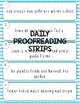 Third Grade Journeys Spelling, Vocabulary, & Proofreading BUNDLE