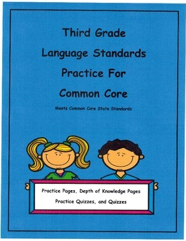 Nouns and Verbs 3rd Gr. Language for Common Core Unit 1 L3.1a