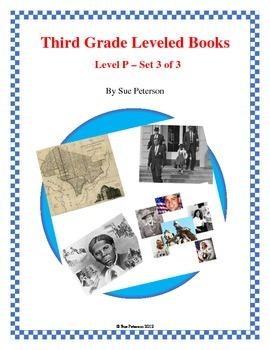 Third Grade Leveled Books: Level P - Set 3