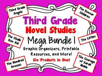 Third Grade Novel Studies Mega Bundle 1
