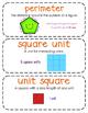 Third-Grade Math Vocabulary {My Math Series - Unit 13 & 14