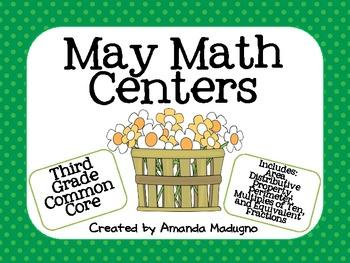 Third Grade Math Skill Centers