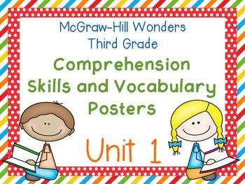 Third Grade McGraw-Hill Wonders Comprehension and Vocabula