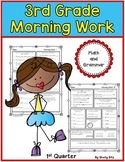 Morning Work for Third Grade (First Quarter)