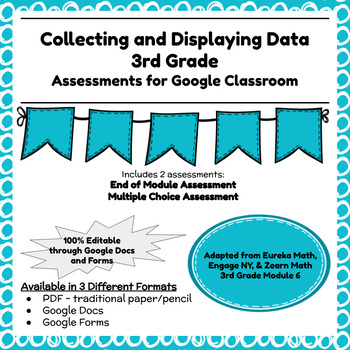 Engage NY Third Grade New York State Math Module 6 Assessment