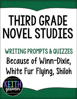 Third Grade Novel Studies:  Because of Winn-Dixie, Shiloh,