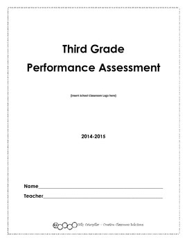 Third Grade Performance Assessment