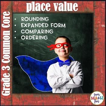Third Grade Place Value Centers Common Core