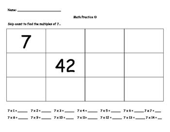 Third Grade Problem Solving Packet