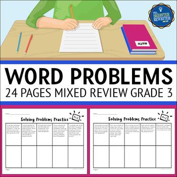 3rd Grade Mixed Skills Word Problems