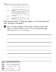 Third Grade Reading Wonders - Unit 1 weekly test answer sheets