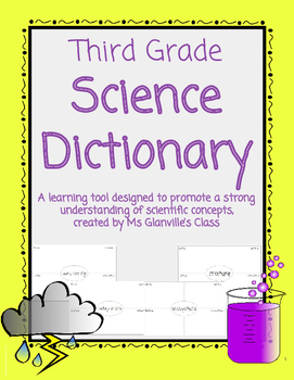 Third Grade Science Dictionary