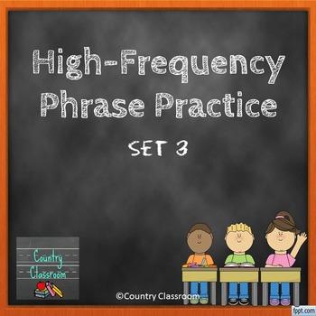 Third Grade Sight Word Phrases PowerPoint: Set 3