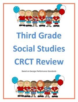 Third Grade Social Studies CRCT Review Georgia Performance