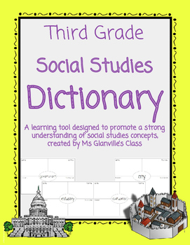 Third Grade Social Studies Dictionary