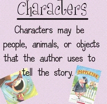 Third Grade :Story Elements