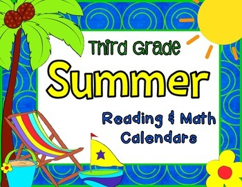 Third Grade Summer Learning Packet with June & July 2015 C