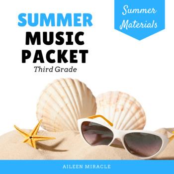 Third Grade Summer Music Packet