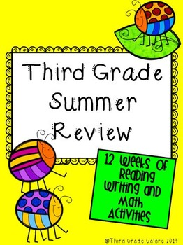 Third Grade Summer Review Packet