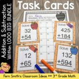 Third Grade Math Unit One Task Cards with Common Core
