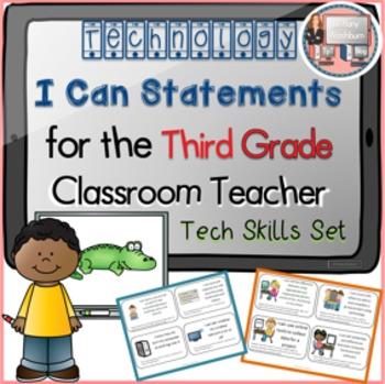 I Can Statements Third Grade Technology Skills