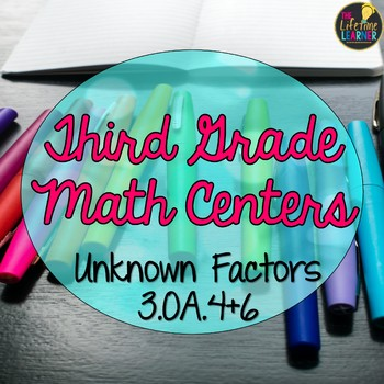 Third Grade Unknown Multiplication and Division Factors Ma