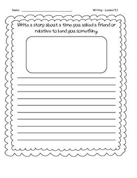 Third Grade Wonders Writing - Unit 5