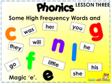 Third Phonics Review for Young Students