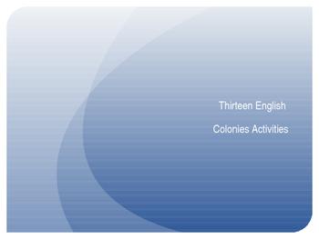 Thirteen Colonies Activities and Games