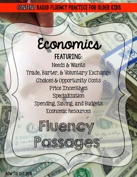Economics Fluency Passages