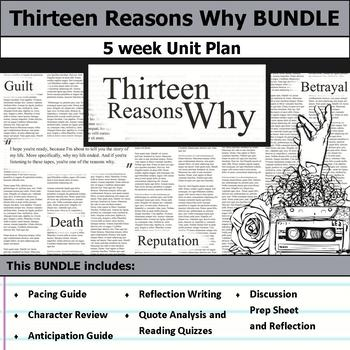 Thirteen Reasons Why Unit Bundle