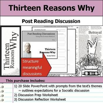 Thirteen Reasons Why - Socratic Method - Post Reading Discussions