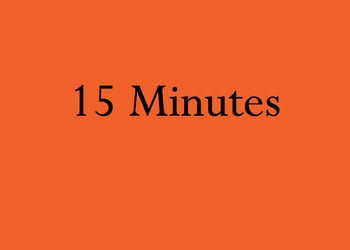 Thirty Minute Simple Timer Power Point Any Grade