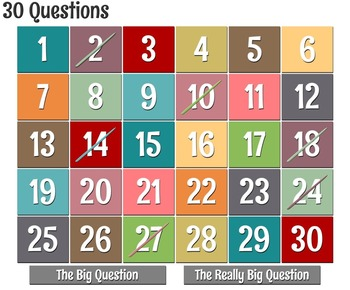 Thirty Questions: Simple and Complete Subjects and Predicates