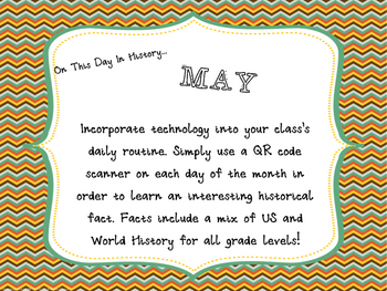 This Day in History QR Calendar-May