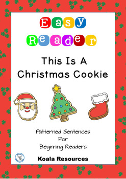 This Is A Christmas Cookie Easy Reader Patterned Sentences