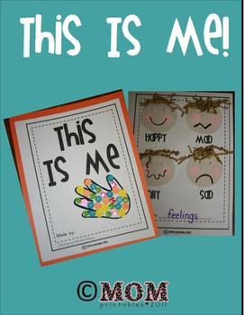 """This Is Me (a keepsake """"All About Me"""" book)"""