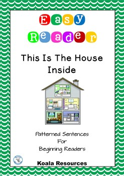 This Is The House Inside Easy Reader Patterned Sentences F