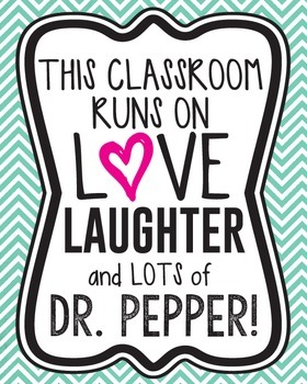 This classroom runs on love, laughter, and lots of Dr. Pep