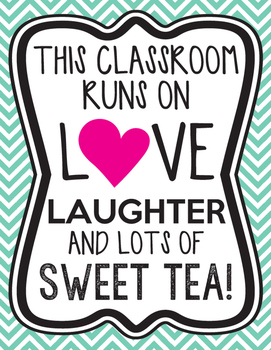 This classroom runs on love, laughter, and lots of Sweet Tea!