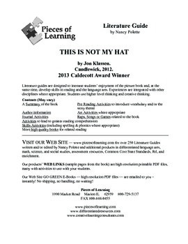 This is Not My Hat Literature Guide