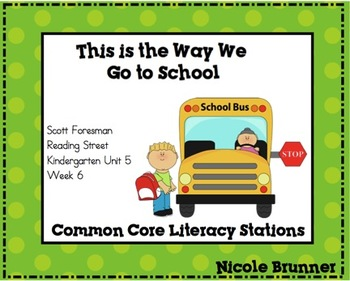 This is the Way Reading Street Unit 5 Week 6 Common Core L